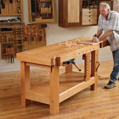 Adirondack Wooden Chair Plans Dxr Racing How To Build A Heavy Duty Workbench - Finewoodworking