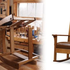 Wood Rocking Chair Styles Hanging Egg Stand Only Craftsman Finewoodworking Synopsis Mike Pekovich S Rocker Is Designed For Comfort As Well Style Its Wide Low Stance And Deep Cushion Take Care Of The Part