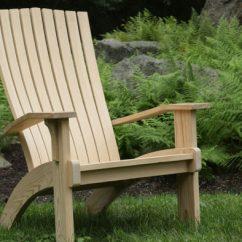Modern Adirondack Chair Gaiam Yoga Ball Finewoodworking
