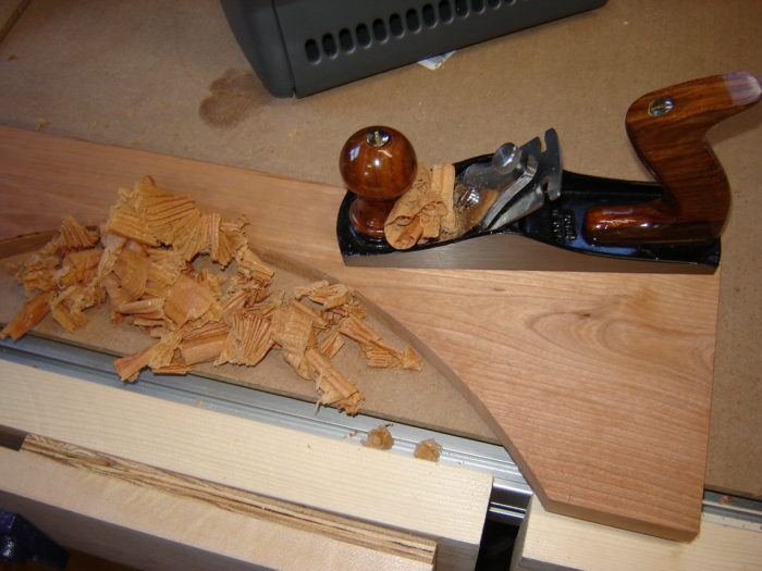 Hand Plane Frog Position