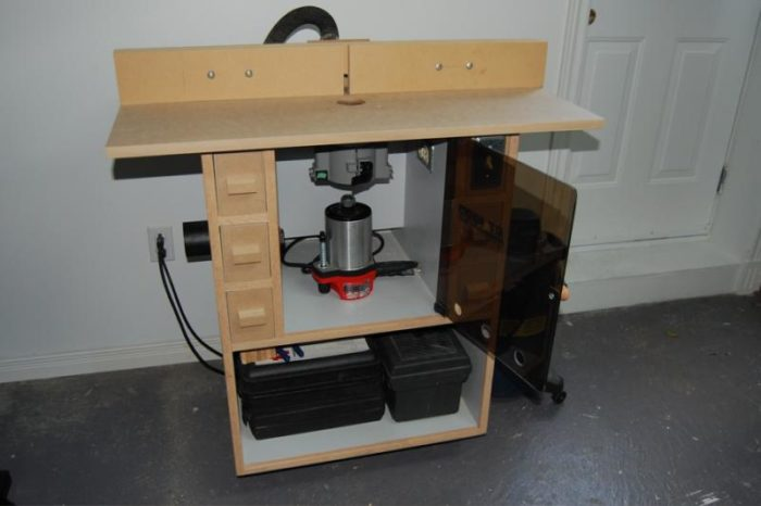 Rt1000 Router Table