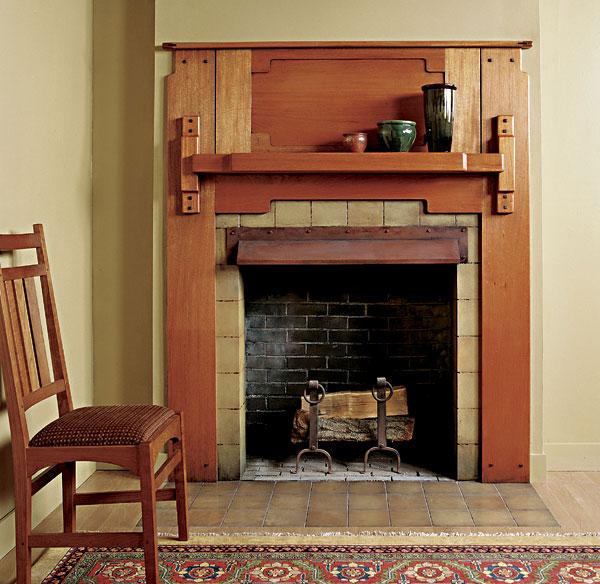 Greene And Greene Fireplace Mantel FineWoodworking