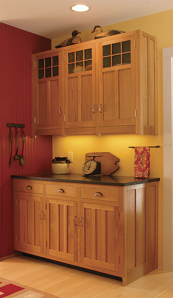 amazon kitchen cabinet doors outdoor drawers craftsman-style cabinets - finewoodworking