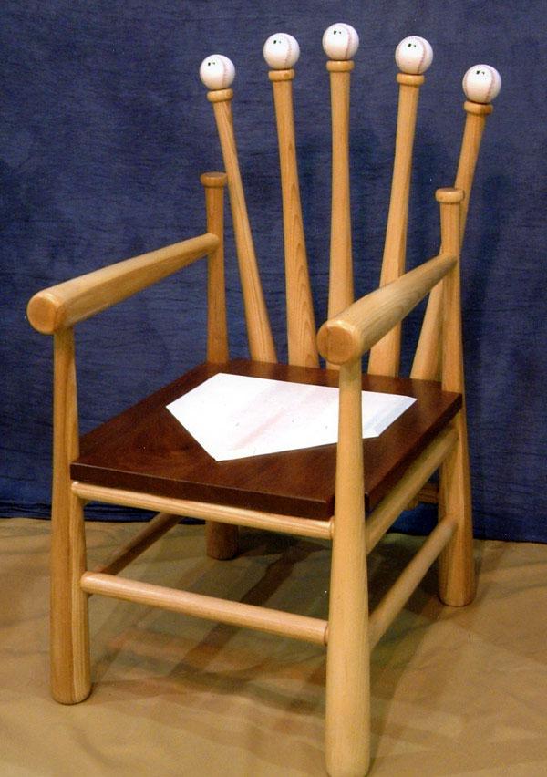 Baseball Chair  FineWoodworking
