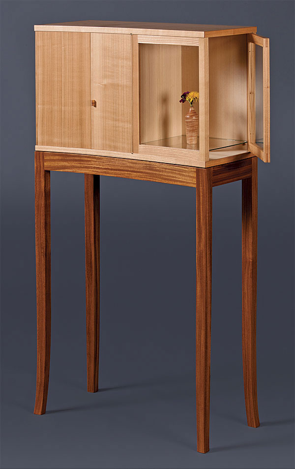 KrenovInspired Cabinet on Stand  FineWoodworking
