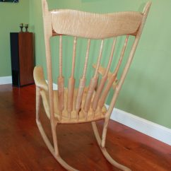 Sam Maloof Rocking Chair Plans Hal Taylor Sundial Accent Tub My Finewoodworking