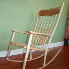 Sam Maloof Rocking Chair Plans Hal Taylor Osaki Massage My Finewoodworking