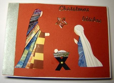 Nativity Iris Folding Pattern CUP24016262 Craftsuprint