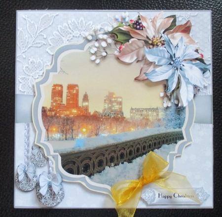 Christmas in Manhattan Card Kit - CUP897068_1483 | Craftsuprint