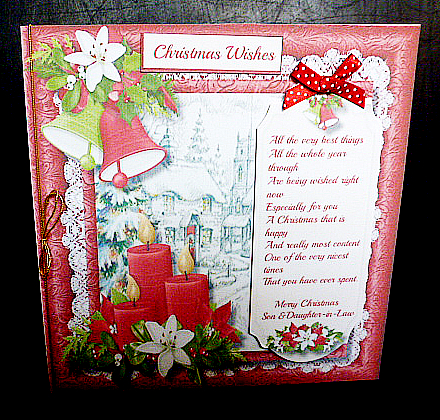 Christmas Wishes Son Amp Daughter In Law CUP6394311398