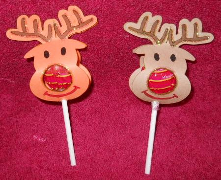 Rudolph Reindeer Chupa Chups Lolly Holder All Formats