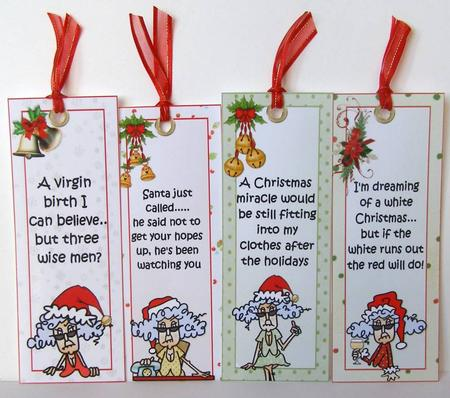Collection Four Stella Christmas Bookmarks CUP457901