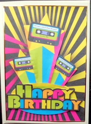 80s Retro Birthday Greeting Card CUP436762 1446
