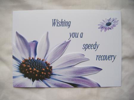 Speedy Recovery Card Sh0044 CUP38120 443 Craftsuprint