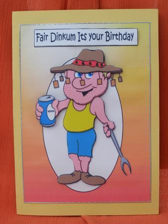 Aussie Birthday Wishes CUP2949961209 Craftsuprint