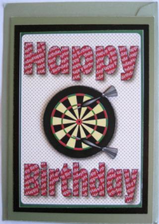 Happy Birthday Dartboard CUP161389750 Craftsuprint