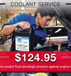 coolant service special coupons header lou fusz chrysler jeep dodge ram fiat o fallon  [ 1200 x 900 Pixel ]
