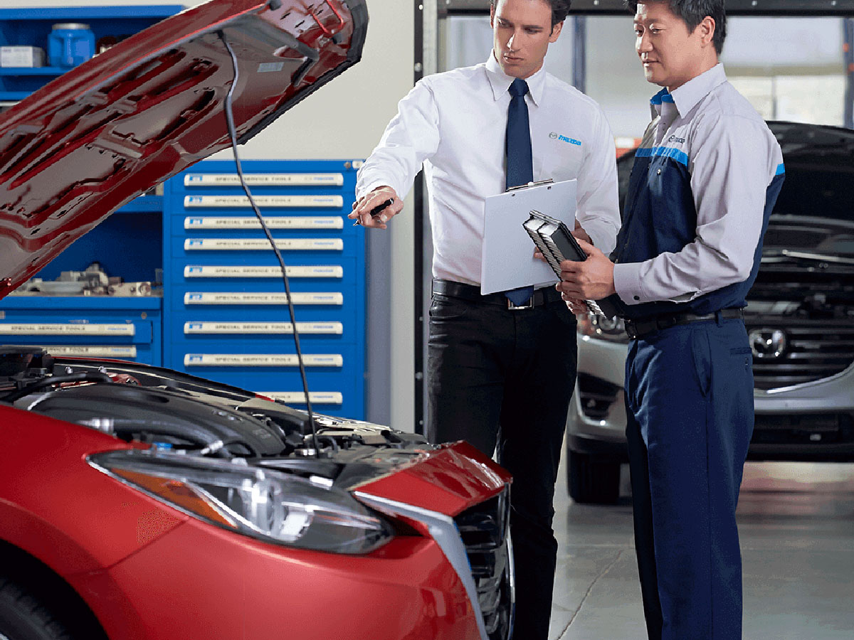 hight resolution of engine air filter replacement service special sport mazda in orlando fl