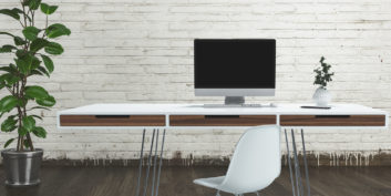 Desk for companies hiring for part-time, work-from-home jobs.