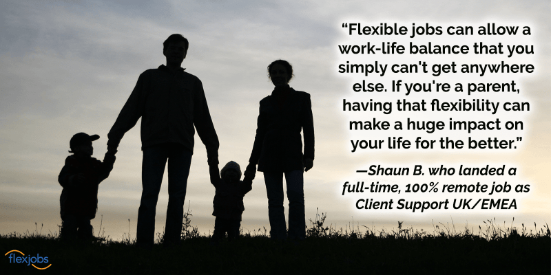 Man Reunites With New Love Thanks to Remote Work and FlexJobs