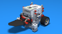 FLLCasts | Sumo Competition Robot from LEGO Mindstorms EV3