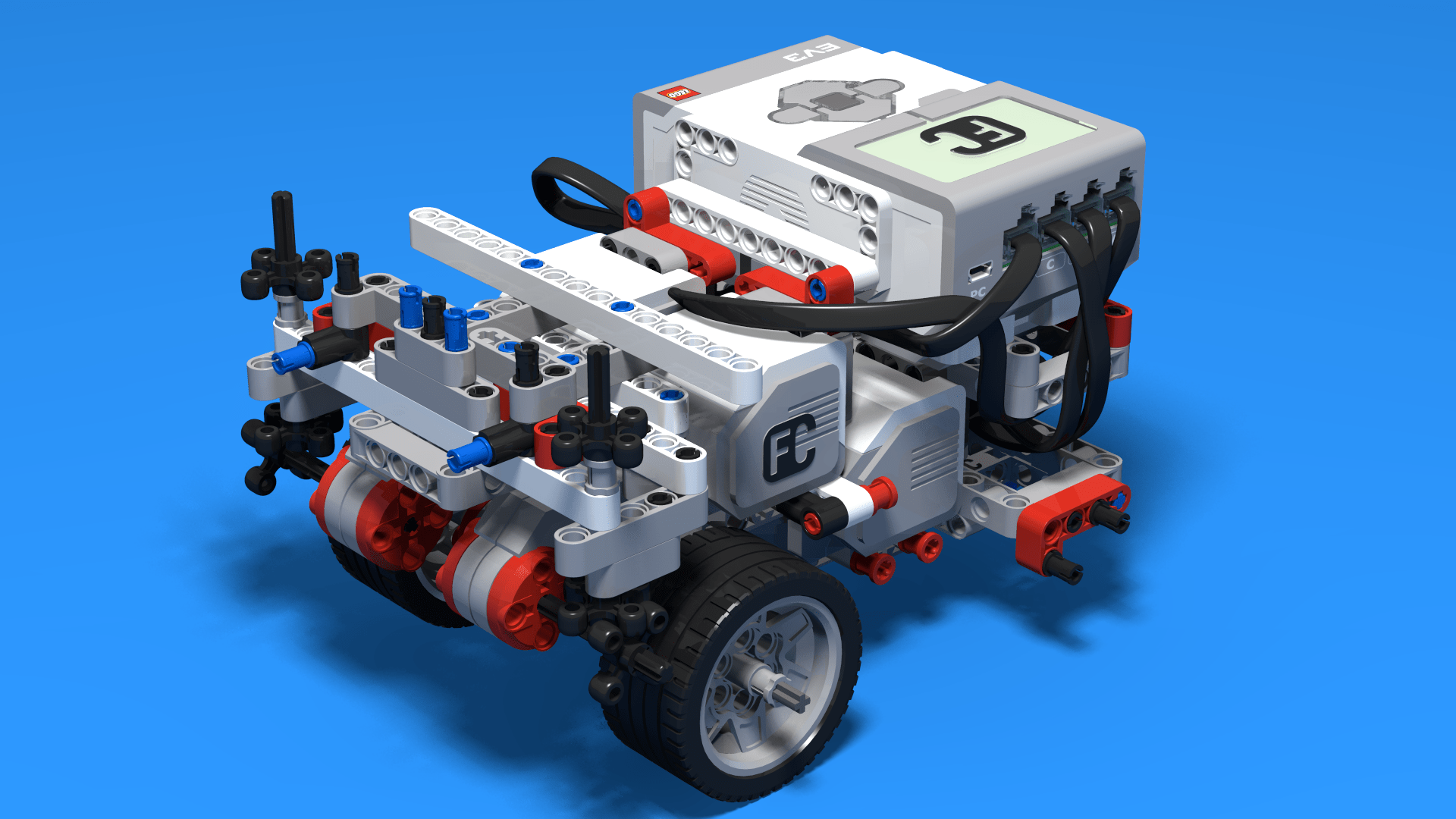 Lego Mindstorms Ev3 Complex Robot Instructions - Year of Clean Water