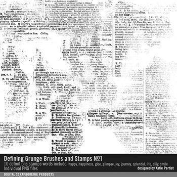 defining grunge brushes and