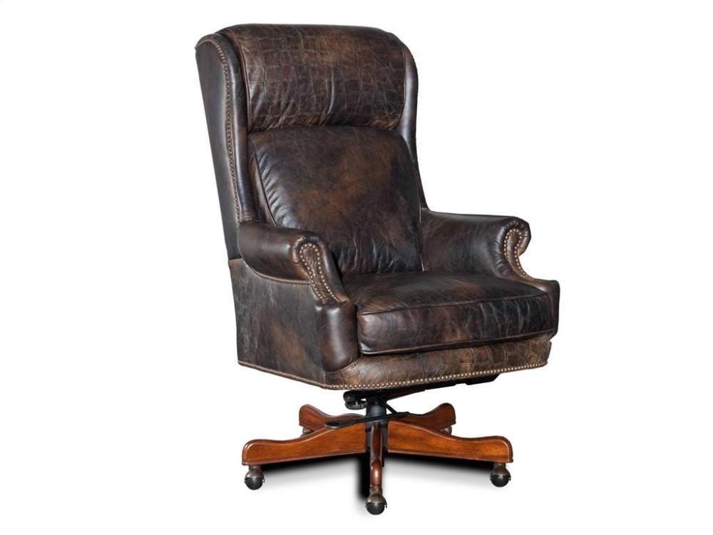 home office desk chairs recliner sleeper chair tucker executive swivel tilt ec378089 abe krasne furnishings