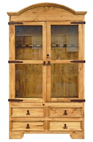 MILLION DOLLAR RUSTIC 8 Gun Cabinet 0511020 Gun Cabinet Quality Furniture