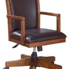 Swivel Chair Office Warehouse Pride Power Cross Island Medium Brown Home Desk H319
