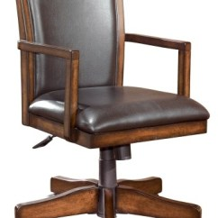 Office Chair Rental Phil And Ted High Review Hamlyn Medium Brown Home Swivel Desk H527 01a