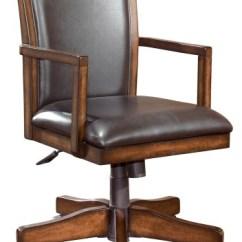 Home Desk Chairs Low Back Beach Chair Hamlyn Medium Brown Office Swivel H527 01a
