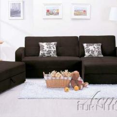 Acme Sectional Sofa Chocolate Designs 2018 5770 Finish With Storage
