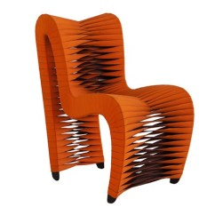 Orange Side Chair Rent Chairs For Party Seat Belt Dining At Hom