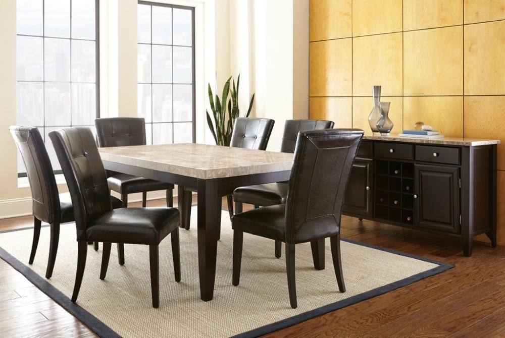 black parsons chair hydraulic facial steve silver co monarch mc500s side chairs quality furniture