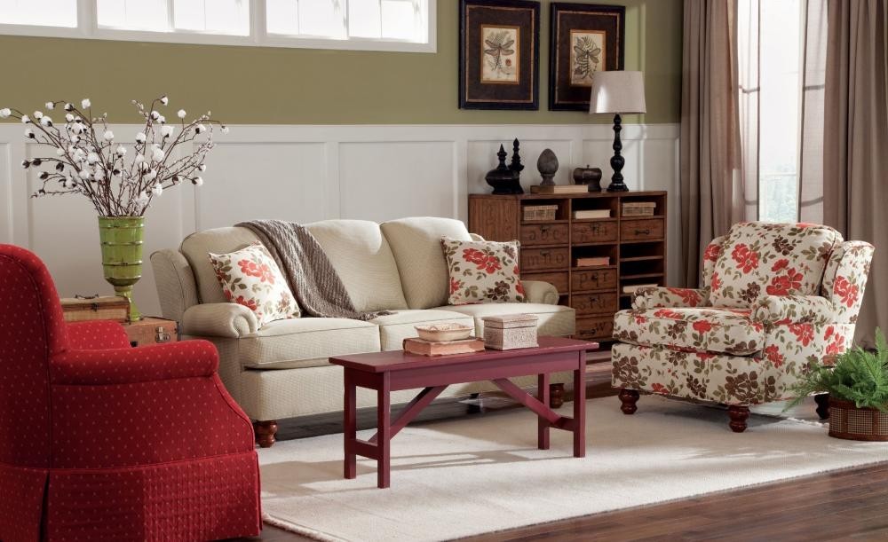 craftmaster living room furniture antique designs sleeper sofas three cushion