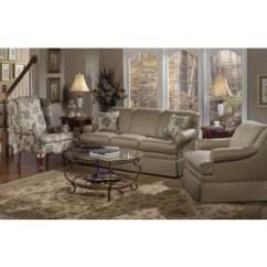Craftmaster Living Room Furniture Microfiber Set Stationary Sofas Three Cushion