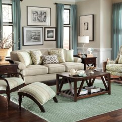 Paula Deen Living Room Furniture Collection Sets On Sale Craftmaster By Stationary Sofas Three Cushion