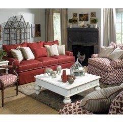 Craftmaster Chair And A Half Bedroom Bed Furniture Paula Deen By Living Room