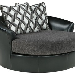 Oversized Swivel Chairs For Living Room Vintage Barber Sale Kumasi Smoke Accent Chair 3220221