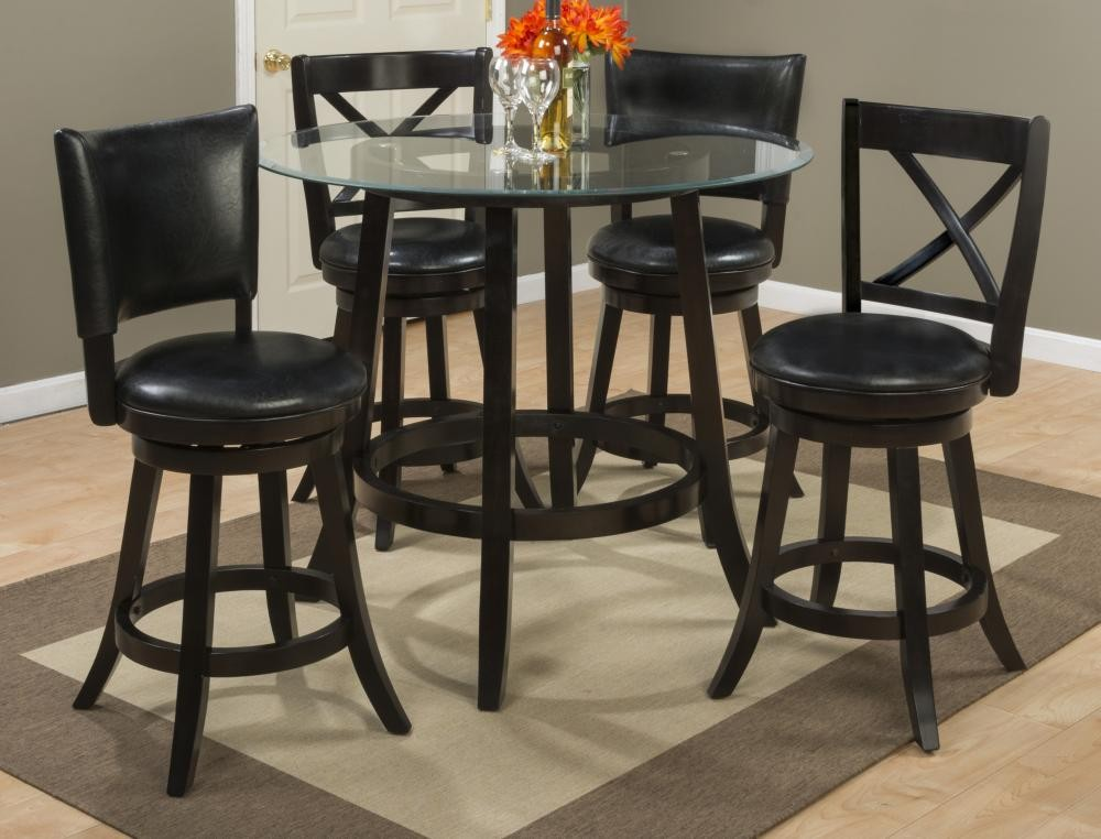 table with swivel chairs double papasan chair for sale aaron glass top counter height two x back stools