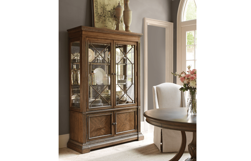 Renaissance Display Cabinet Curio Cabinets Whit Ash