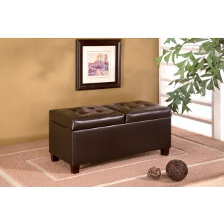 chocolate brown leather sectional sofa with 2 storage ottomans sofas london on ottoman seat n sleep request a quote