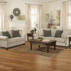 Living Room Sofa And Loveseat Sets Blue Set Milari Linen 13000 35 38