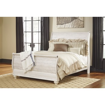 Willowton Queen Sleigh Bed B267777496 Complete Beds