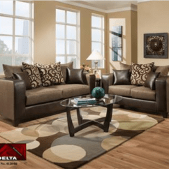 Living Room Mattress Brown Leather Couch Decorating Ideas 4120 Delta Espresso Group 4120esp Sets National Furniture Warehouse
