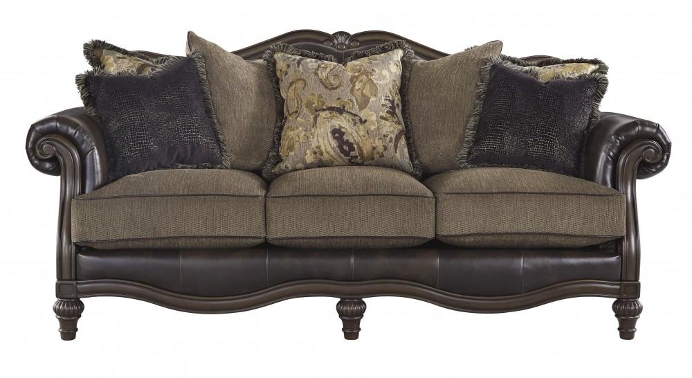 Winnsboro DuraBlend Vintage Sofa 5560238 Leather
