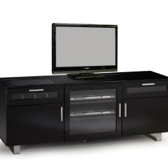 Living Room Tv Stand Black Furniture Designs Consoles 60 Console 700672