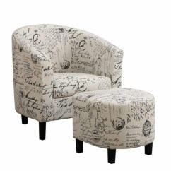 Transitional Accent Chairs Fishing Low Chair Accents Vintage French With Ottoman