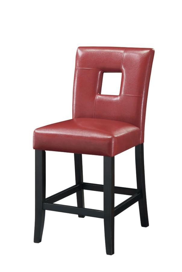 red counter height dining chairs swing chair louis vuitton everyday stools newbridge causal